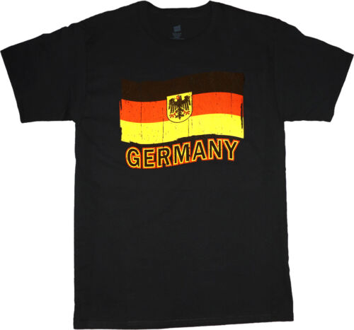 big and tall t-shirt German flag Germany pride shirt tall shirts for men