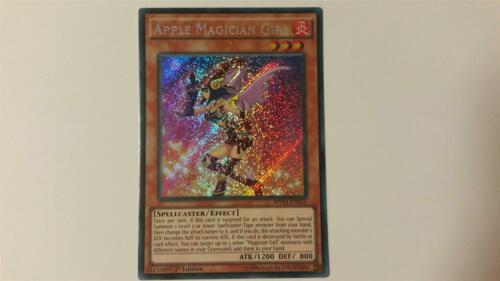 "Near Mint Edition! /""Apple Magician Girl/"" MVP1-ENS15 1 YUGIOH! Secret Rare"