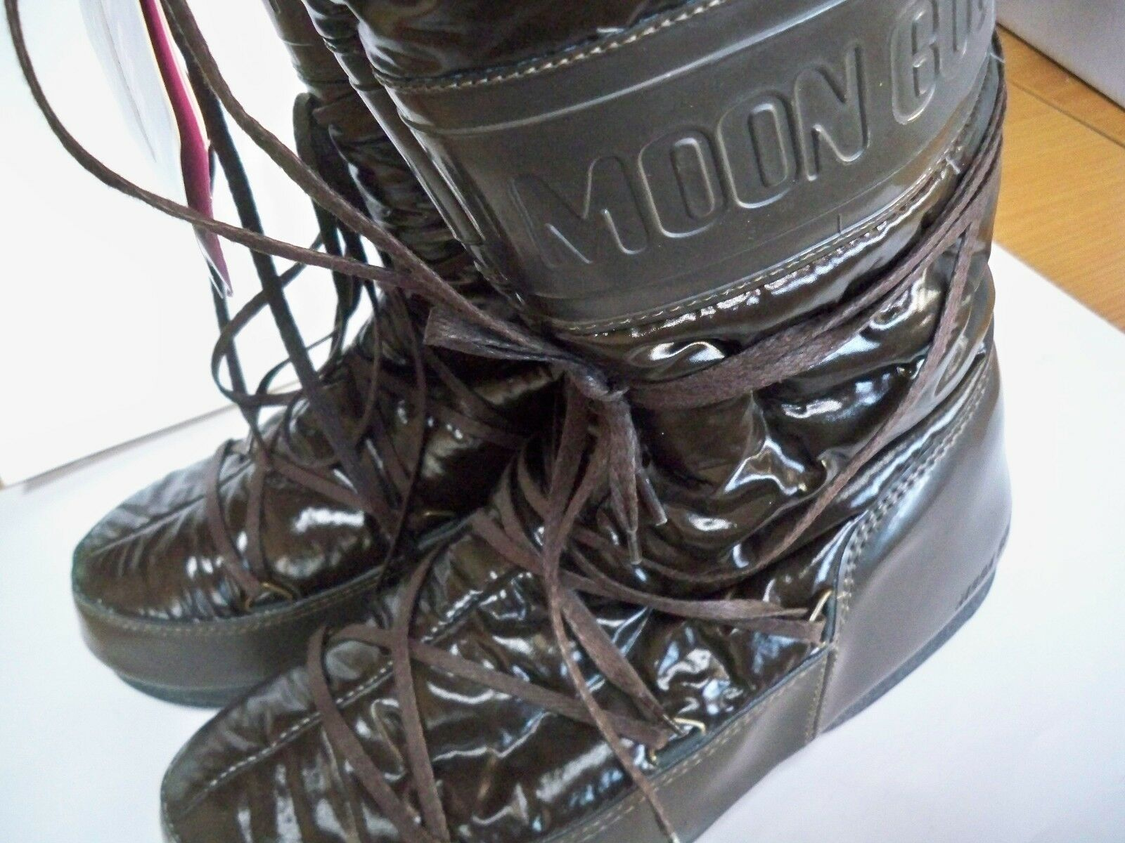 DOPOSCI MOON BOOT W.E. SOFT MARRONE EU MISURA EU MARRONE 41/42 USA 8.5/9 UK 7.5/8 14e03a