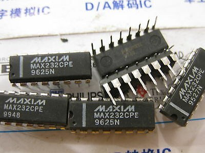 5V-Powered Multichannel RS-232 2-Drivers//2-Receivers MAX222 1x MAX222CPN