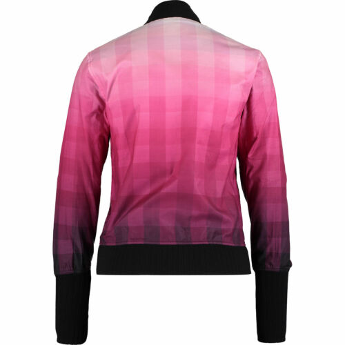 Pink Jacket Fred Ombre Perry 10 Women's Uk Bomber 12 Check YYqEF