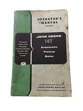 John Deere 14t Pickup Baler Operators Manual Ome21659