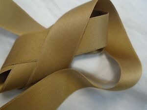 1-034-WIDE-100-COTTON-DF-SATEEN-RIBBON-COCOA-BROWN-2-yards-3-50