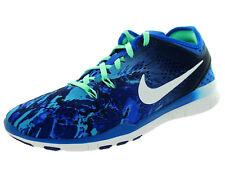 WMNS Nike Free 5.0 TR FIT 5 PRT 704695 Blau 403 Damen Sportschuhe Laufschuhe NEU