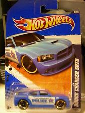 Hot Wheels Dodge Charger SRT8 Police HW City Works Blue