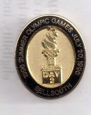 1996 Bellsouth Day 2 Atlanta Olympic Pin
