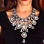 Women-Fashion-Crystal-Necklace-Choker-Bib-Statement-Pendant-Chain-Chunky-Jewelry thumbnail 2