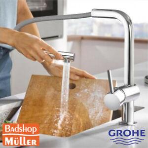 Häufig GROHE Minta Küchenarmatur Spülbrause Küche mit herausziehbarer UB72