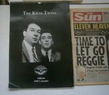 The Kray Twins Reggie Kray ,  Ronnie Kray Broadmoor  RONNIE KRAY DEAD ?   ?