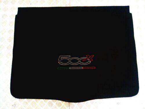 Fiat 500 X tappetino moquette baule bagagliaio car boot floor carpet cover