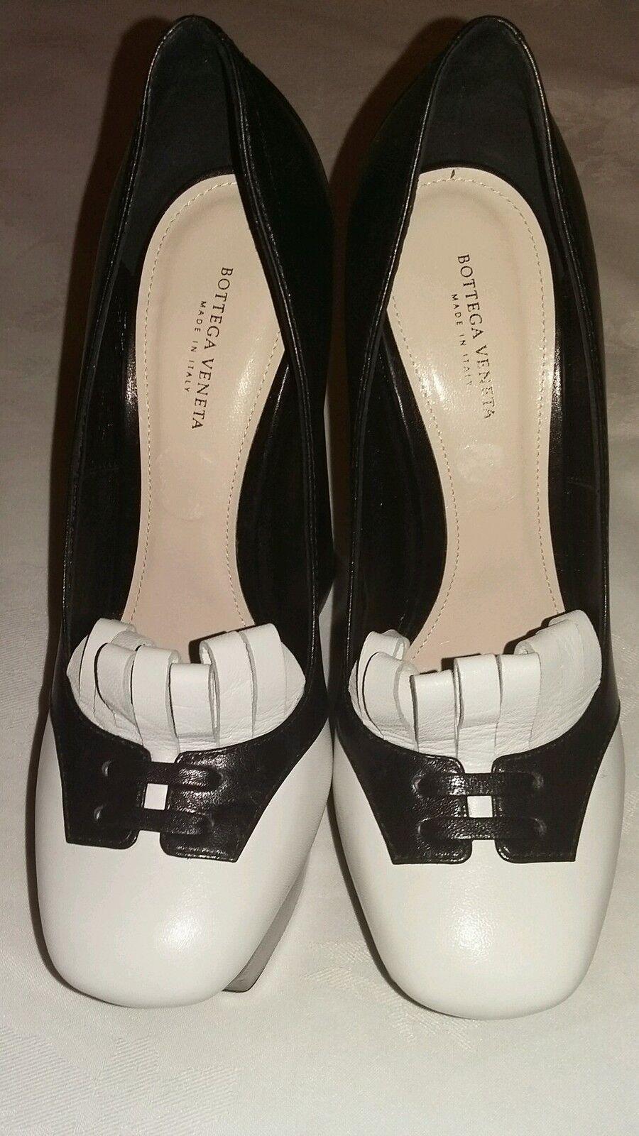 Bottega VENETA negro Bombas Tacones Zapatos Zapatos Zapatos Talla 4 UK, EU 37 Nuevo PVP - 4ee96e