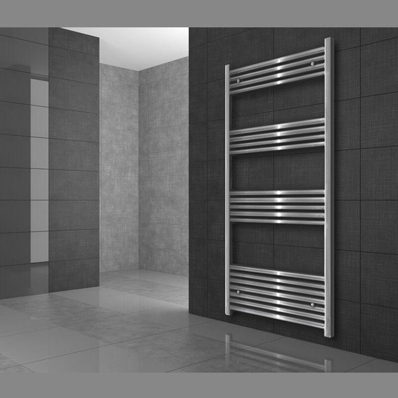 500 x 1760mm Sahara Badheizkörper Heizkörper Handtuchheizer Seitenanschluß Chrom