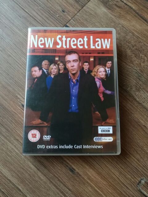 New Street Law Series 1 (DVD 2007 3-Disc-Set) FREE POST