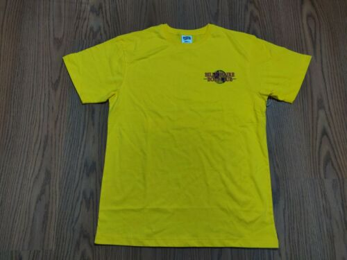 NWT Billionaire Boys Club International ss t shirt size large yellow 881 9208