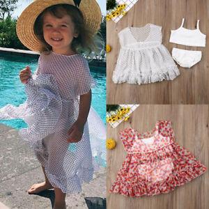 a11f04774c Image is loading UK-Toddler-Kids-Baby-Girls-Bikini-Swimwear-Bathing-