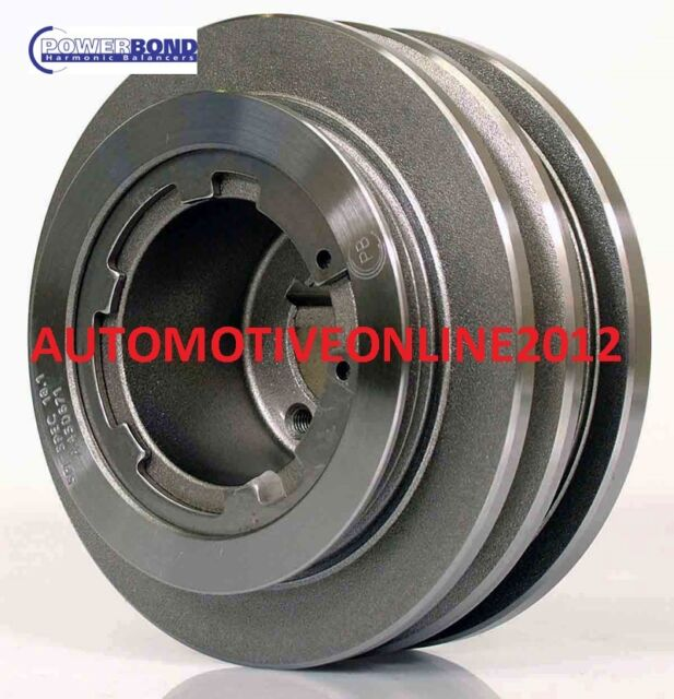 POWERBOND STREET HARMONIC BALANCER 1998-10/02 FORD FALCON AU 1 2 WINDSOR 8CYL 5L