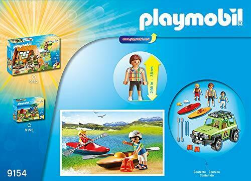 Playmobil 9154 Leisure Leisure Leisure Camp Off-Road Vehicle, Multi-Colour 6fa5ae