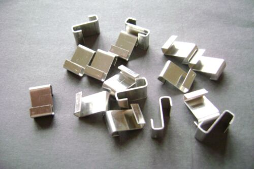 GREENHOUSE Z GLAZING CLIPS CHOOSE FROM 5 TO 200 SEE LINK FOR ALL W Z CLIPS