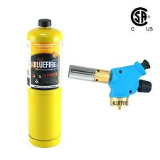 Bluefire Handy Cyclone Propane Torch Head Mapp Kit Trigger Start Welding Map Gas