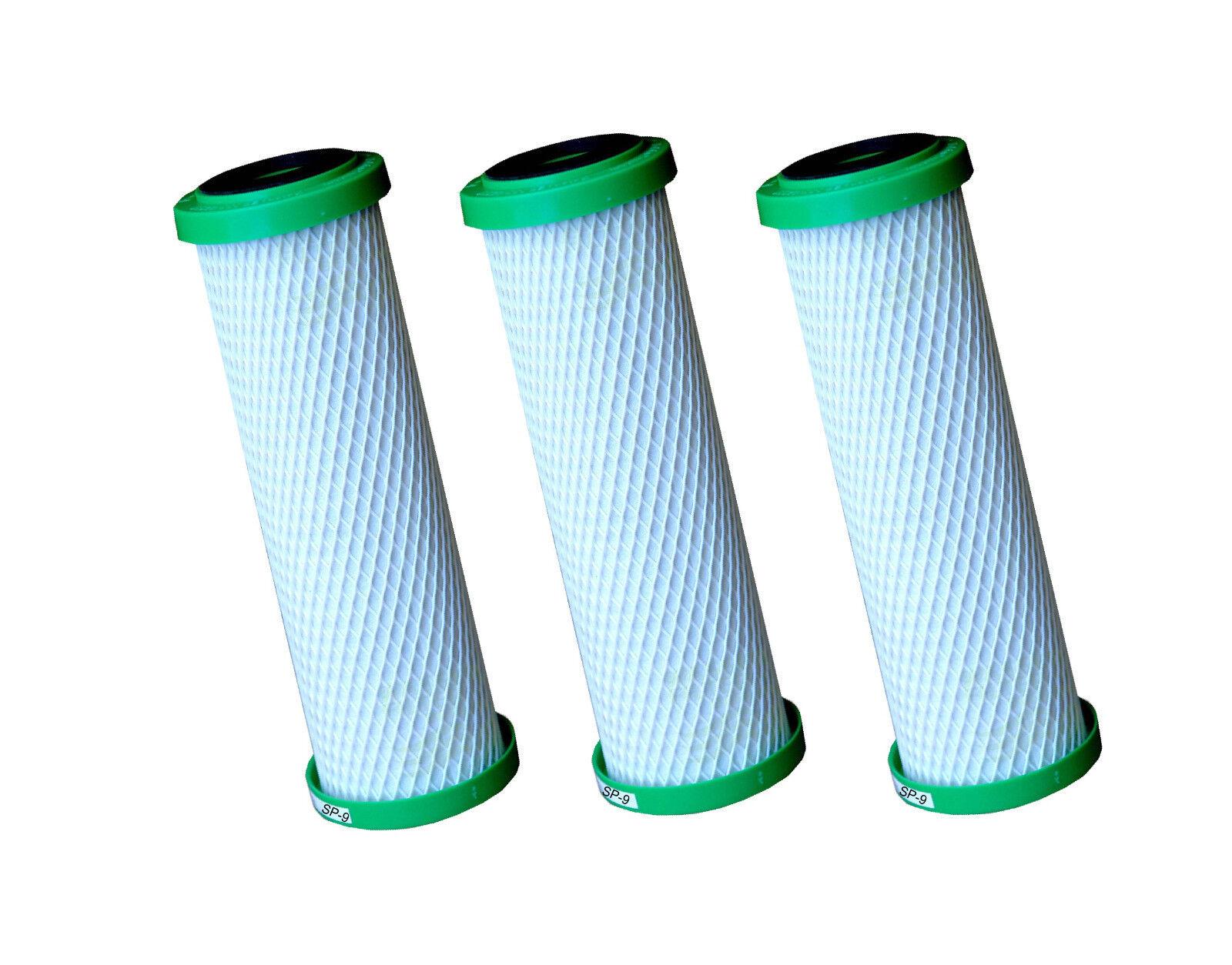 3 x statistico Spécial - 9 Filtres de Rechange Filtre à eau de CARBONIT pour SANUNO DUO