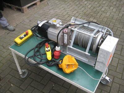 Liftket LSF 200/1-15 Seilwinde 100m Seillänge gebraucht WKA Hoffmann Winde