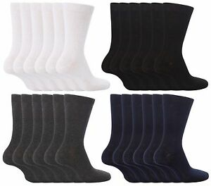 Boys Grey Ribbed Ankle Socks School Childrens Kids Plain 15 Pairs Grey Socks