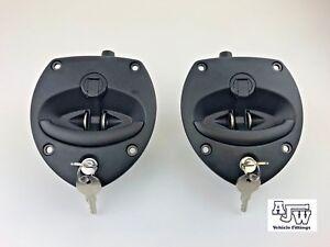 2 Vector Locking Drop T handle Recovery Box Locker HGV Vehicle Truck Adjustable