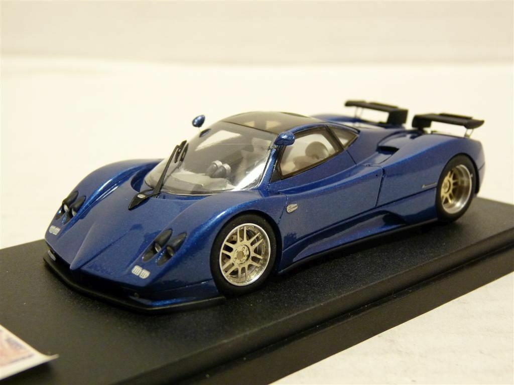 Starter T212 1 43 2002 PAGANI ZONDA C12S fait main en résine voiture modèle