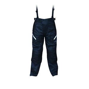 Oxford-T14-Spartan-Waterproof-Textile-Motorcycle-Trousers-Black