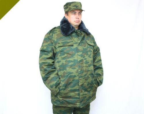 ORIGINAL RUSSISCHE ARMEE WINTERANZUG FLORA ФЛОРА JACKE HOSE TARNANZUG WINTER RUS