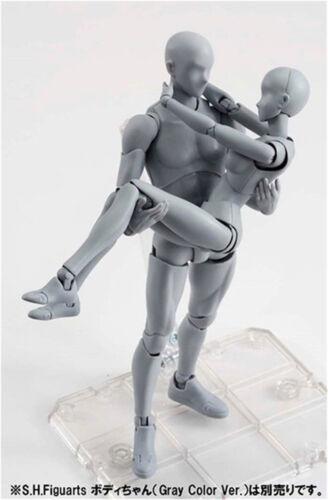 S.H Figuarts LUI LEI corpo KUN DX SET COLORE GRIGIO VER Body-CHAN Azione Figura in PVC