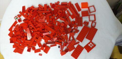 LEGO Lots AU CHOIX  kg vrac briques plaques technic Rouge Marron Bleu Noir