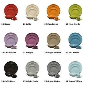 Cayos Company Piatto Piano Porcellana cm 27 Colore Rosso Fuoco 10