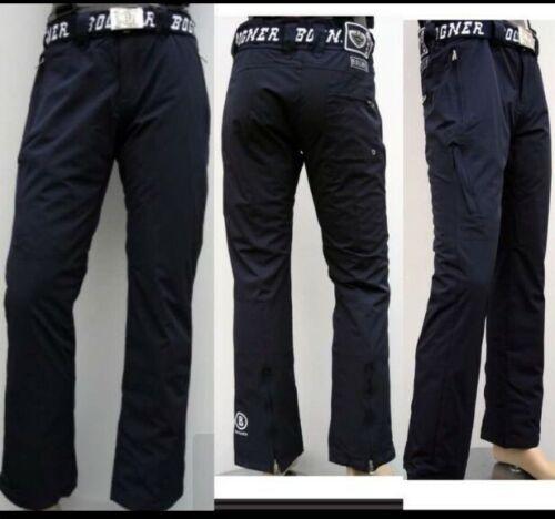 Nuevo señores Bogner esquí pantalones azul tamaño XXXL