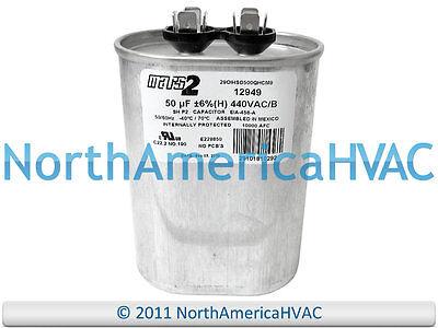 12.5 uf MFD 370//440 Volt VAC fits Mars # 12009 ClimaTek Oval Capacitor