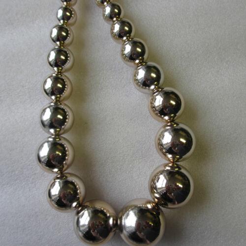 14mm Craft Jewellery 5-30 Beads Light Gold Metallic Large Round Beads 30mm