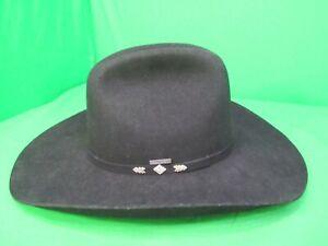 e09a87babf6d8 Stetson Silverado Ultra-Felt Cowboy Hat Black 4