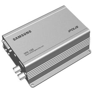 Samsung-SPE-100-1-Channel-H-264-PoE-Video-Encoder-Bi-Audio-Support-amp-SD-Slot