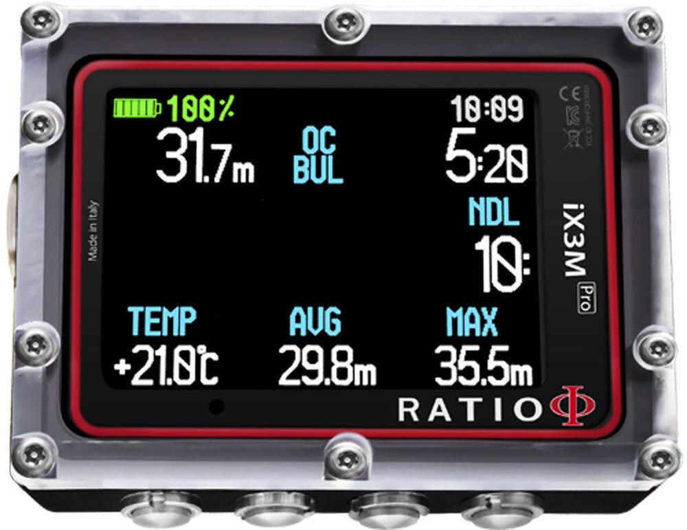Ratio iX3M PRO Air Integrated Dive Computer