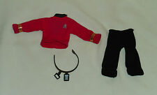 "vintage Mego Star Trek original SHIRT, PANTS, BELT, COMMUNICATOR from 8"" SCOTTY"