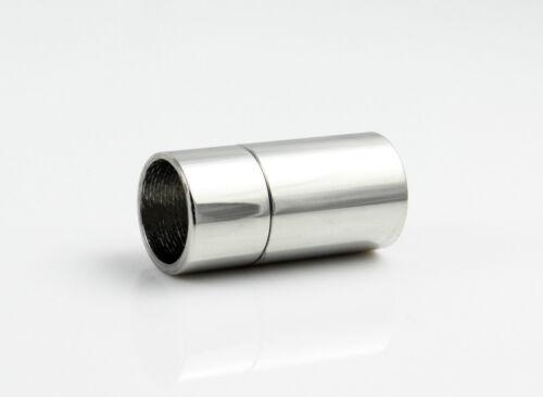 Acero inoxidable cierre magnético Ø 8 mm fabricar joyas pulsera 20x10 mm