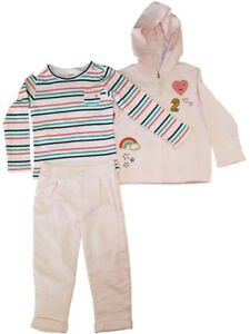 Carter-039-s-Little-Girls-3-Piece-Outfit-Jacket-Top-amp-Pant-2-Cute-Pink