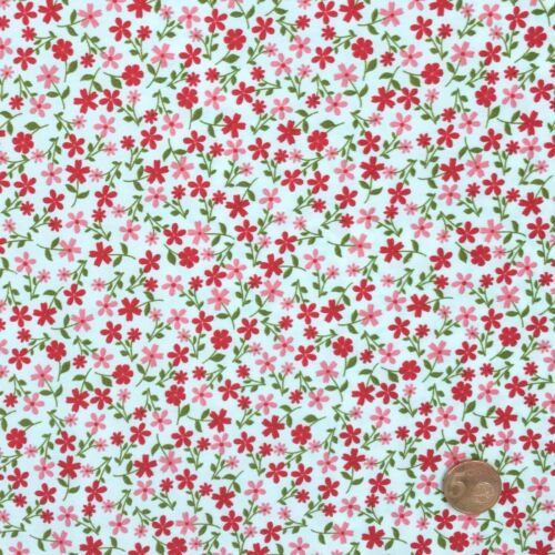 Dainty Daisy floral 100/% Cotton Fabrics sold per half metre fat quarter