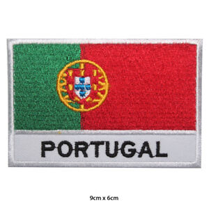 Portugal-National-Flag-Embroidered-Patch-Iron-on-Sew-On-Badge-For-Clothes-etc