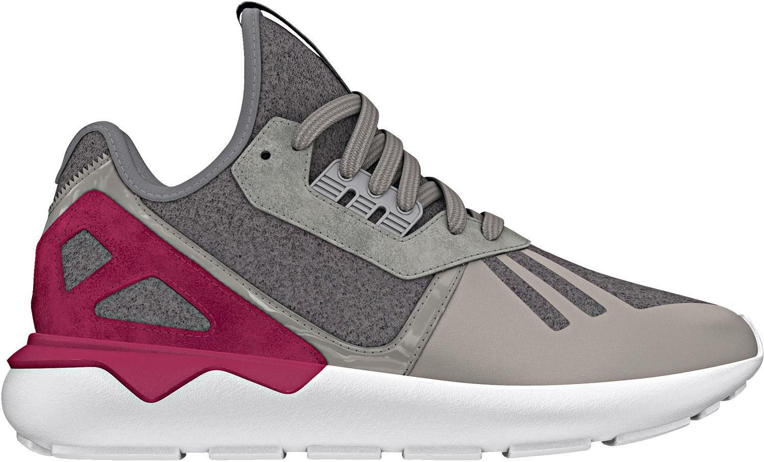 Oryginal Adidas Tubular courirner w US trainers  -UK 6.5/ US w 8 /39 EUR -gray/berry f4bb6f