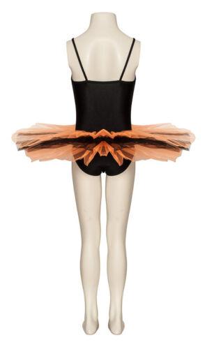 Black /& Orange Fancy Dress Halloween Dance Tutu Outfit Costume All Sizes By Katz