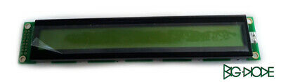 1 x GDM1602B-NSW-BBS LCD Display 16x2 Transmiss Negativ STN Blue 6:00 o/'clock