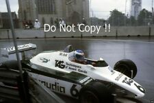 Keke Rosberg Williams FW08 Detroit Grand Prix 1982 Photograph
