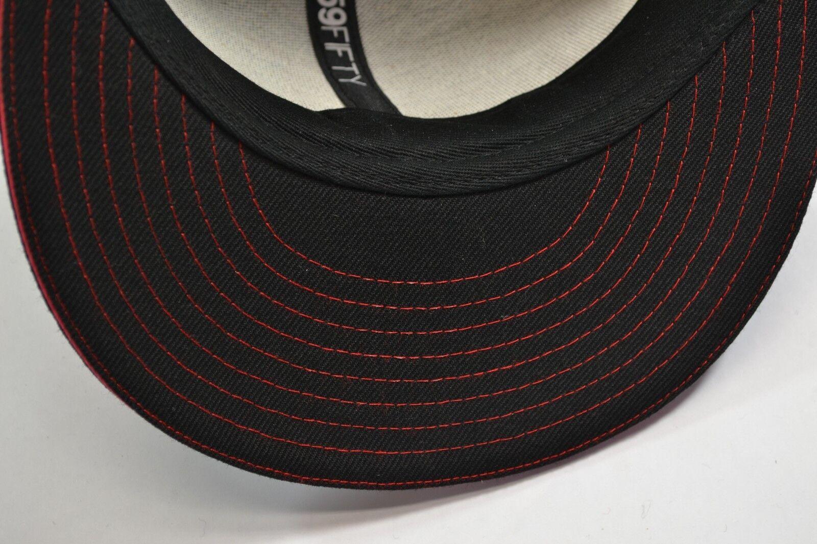 DC Shoes STREAKS Black Red White Men's Patch Logo Baseball Cap Discounted Men's White Hat 71c206