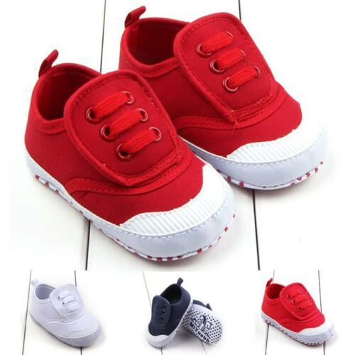 Toddler Baby Boy Girl Sole Crib Shoes Sneaker High Quality Baby Shoes Simple